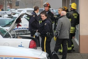 Surrey RCMP Accident