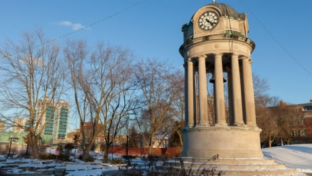 The 22 life-size statues would be placed in the behind the clock tower in Kitchener's Victoria Park.