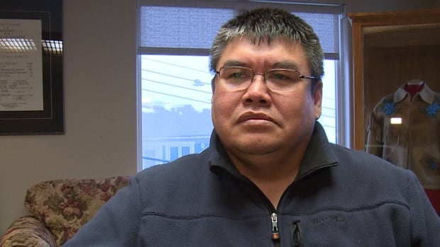 Norman Snowshoe, vice president of the Gwich'in Tribal Council, is helping organize a walk in protest of the Yukon government's plan for the Peel Watershed.