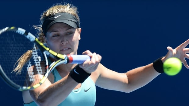 Canada's series against Serbia at next month's Fed Cup women's tennis tie will mark Eugenie Bouchard's return home after her stellar Australian Open performance.