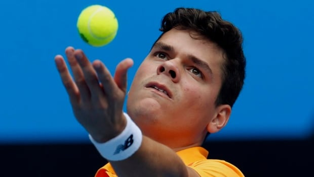Milos Raonic of Thornhill, Ont., is ranked 11th in the world.