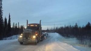 Ice road truck