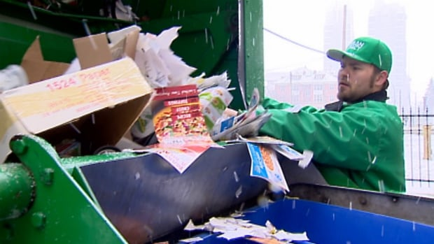 A city committee approved a plan Wednesday that will see private companies pick up recyclables from any building with five or more units.