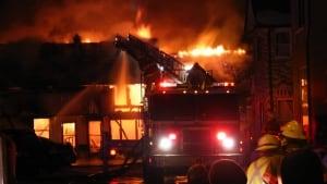 New Hamburg fire drycleaner