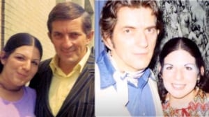 Jonathan Frid and Elena Nacanther