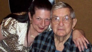 Elena Nacanther and Jonathan Frid