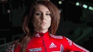Emily Baadsvik is a spare for Canada's Olympic bobsled team