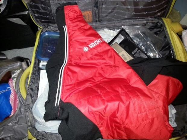 Sochi packing