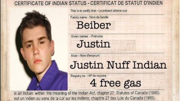 Justin Bieber's claim to be 'part Indian' has been mocked on the internet.