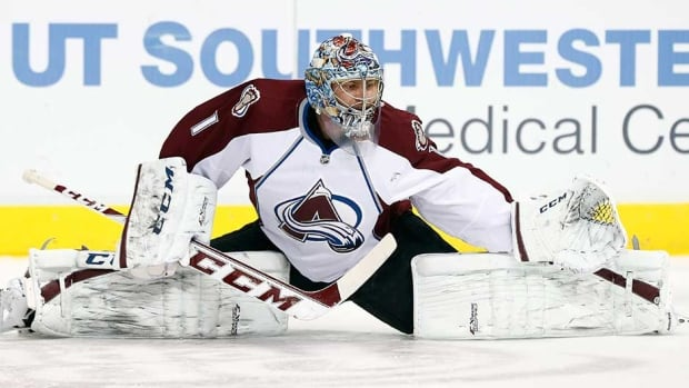 Colorado Avalanche goalie Semyon Varlamov has posted a career-high 26 wins under head coach Patrick Roy this season.