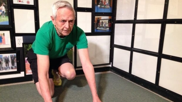 Martensville's Ted Rowan, 80, was named the 2013 Sask Sport Inc. Master Athlete of the Year