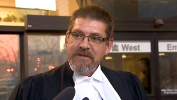 Lawyer Paul Moreau argued the temporary injunction for a Crown prosecutor whose name is under a publication ban.