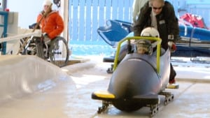 Paralympic bobsled