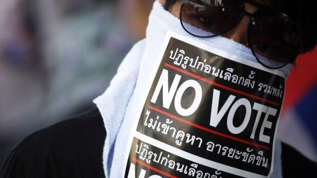 Thailand no vote