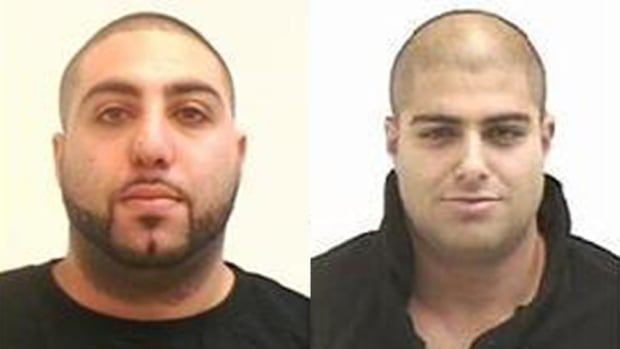 Bassam Elouta, 34, (left) and Ravinder Grewal, 32 (right) are wanted on Canada-wide warrants.