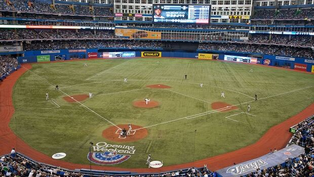The Rogers Centre will be full on April 4 for the Blue Jays' home opener against the Yankees. The game sold out just 48 minutes after all single-game tickets went on sale Friday.