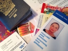 Olympic travel documents