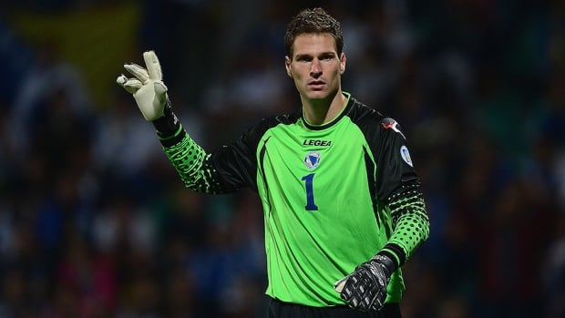 Bosnia and Herzegovina goalkeeper Asmir Begovic leads the squad to their first World Cup appearance in history.  Begovic has six clean sheets in 18 games for Stoke City in English Premier league this season.