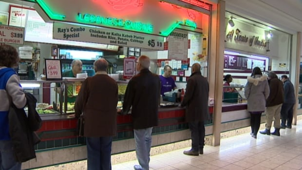 Ray's Lebanese cuisine has been operating in Scotia Square's food court for 31 years.