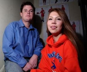 Trevor LaForte and Jessica Lavallee