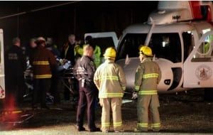 Man hit by train - White Rock Beach - medevac helicoper