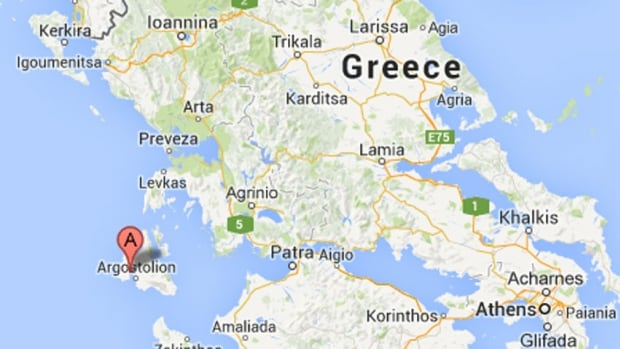 Western Greece was rocked by a 6.1 magnitude earthquake Monday morning.
