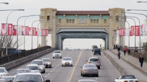 Burrard Street Bridge - Vancouver - Feb. 2, 2014