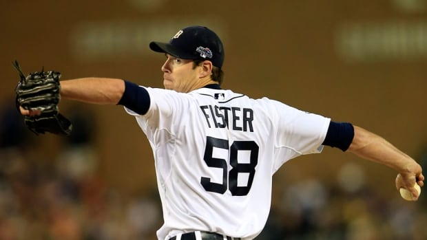 Righty Doug Fister threw 208 2-3 innings last season, when he went 14-9 with a 3.67 ERA for the Detroit Tigers.