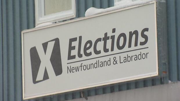 Elections Newfoundland Labrador sign CBC