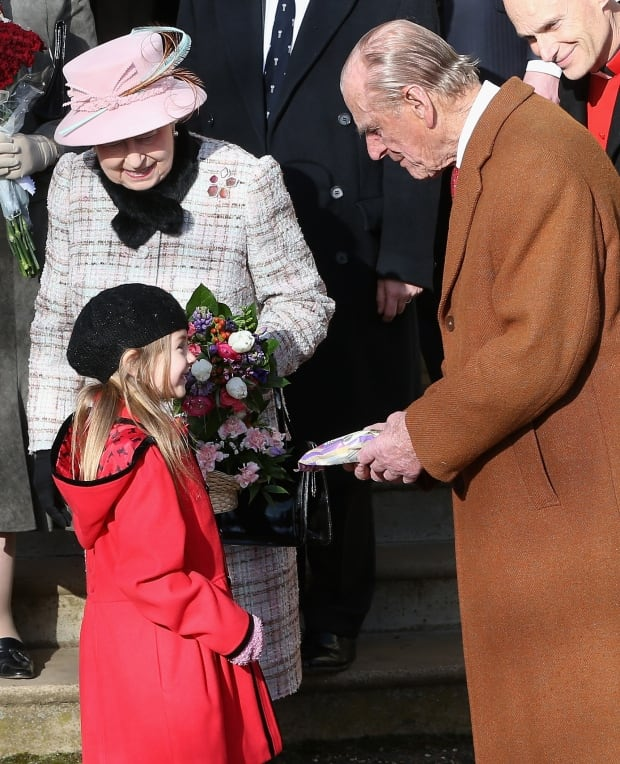 Queen Elizabeth goes to church 78352488