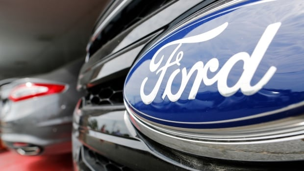 Ford's Canadian sales were down more than 10 per cent in January, with 14,533 vehicles sold compared to 16,197 in the same period a year ago.