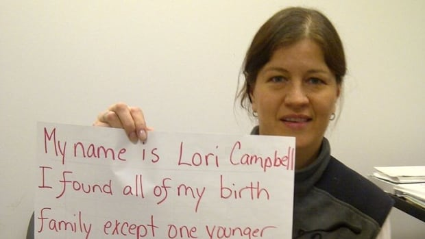 This photo Lori Campbell posted on Facebook about her search for her younger brother  has been shared over 20,000 times.