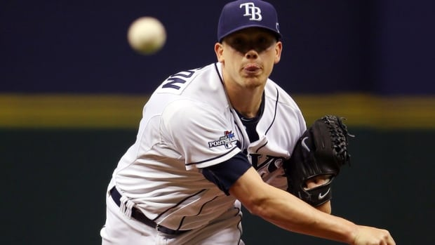 Tampa Bay Rays right-hander Jeremy Hellickson went 12-10 with a career-high 5.17 ERA in 31 starts last season.
