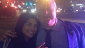 Noz Kazemi and Mayor Rob Ford