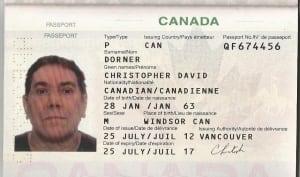 David Dorner Passport