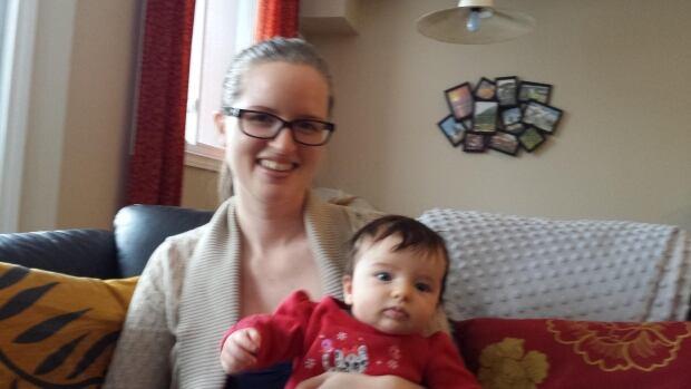 Katie Birnie and her daughter, Audrey.