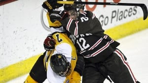 Colorado College Hockey Vs Brown University