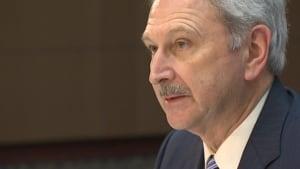 Finance Minister Blaine Higgs