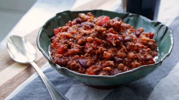 Beef & Spolumbo's Sausage Chili