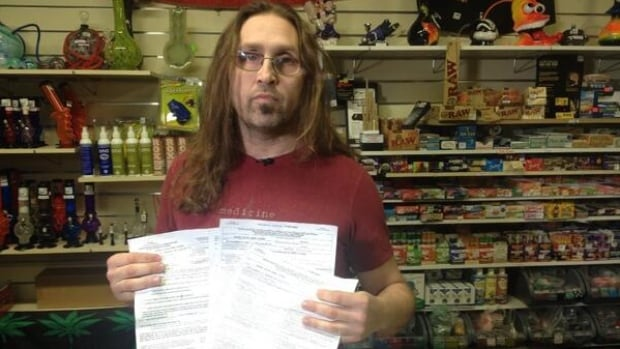 Jeremy Loewen faced multiple criminal charges after his shop, Hemp Haven, was raided earlier this month. Loewen said he has now learned the charges against him have been stayed.