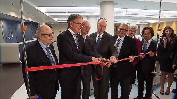 Health officials at the Jewish General Hospital unveil the new emergency department, set to open Feb. 16.