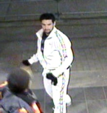 Surrey bus assault suspect - surveillance camera - 1