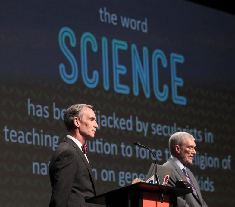 Bill Nye debates creation museum's Ken Ham on evolution, Earth's origin