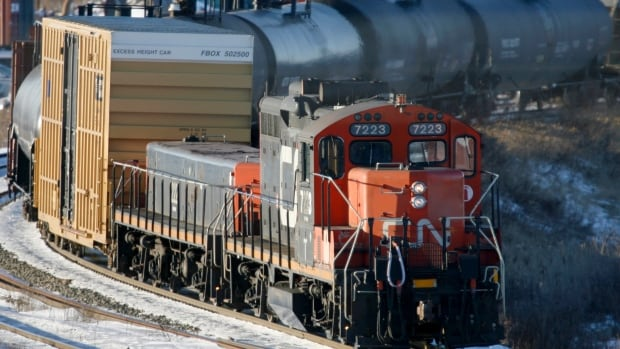 CN Rail is seeking an injunction to stop union and non-union container truck drivers from blocking its railyard in Surrey.  The railway says it is not part of the Port Metro Vancouver dispute, but its operations are now being affected.
