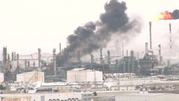 Diesel supply is down after a fire and explosion at a Federated Co-Op refinery in Regina on Dec. 24 last year.