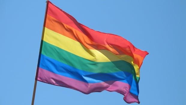 Yellowknife gay pride flag