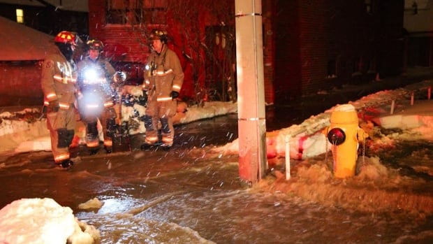 A water main break forced the closure of Dufferin near St. Clair Avenue West early Friday.