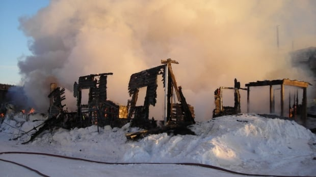 Fire has completely destroyed the Mushuau Innu housing department building in Natuashish.