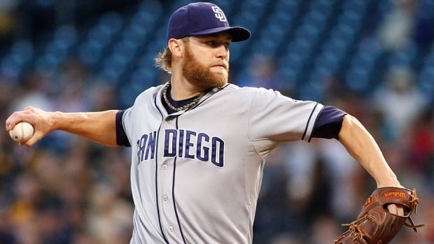 Pitcher Andrew Cashner won his arbitration case against the Padres and will make $2.4 million US in 2014. He was 10-9 with a 3.09 ERA in 26 starts and five relief appearances last season.