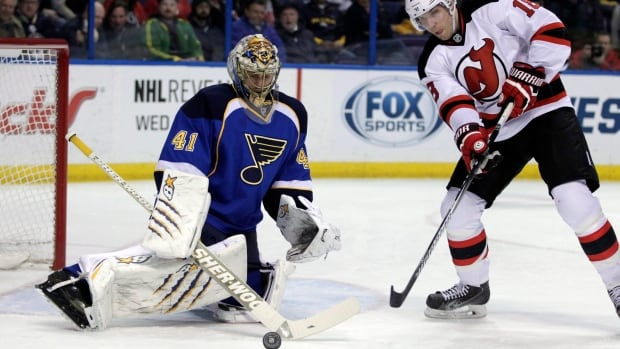 Jaroslav Halak helped St. Louis to the top goals-against average two seasons ago.